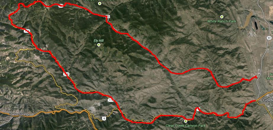 Triumph Bonneville Canyon Ride