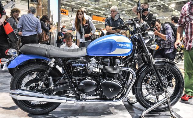 2015 Triumph Bonneville Models