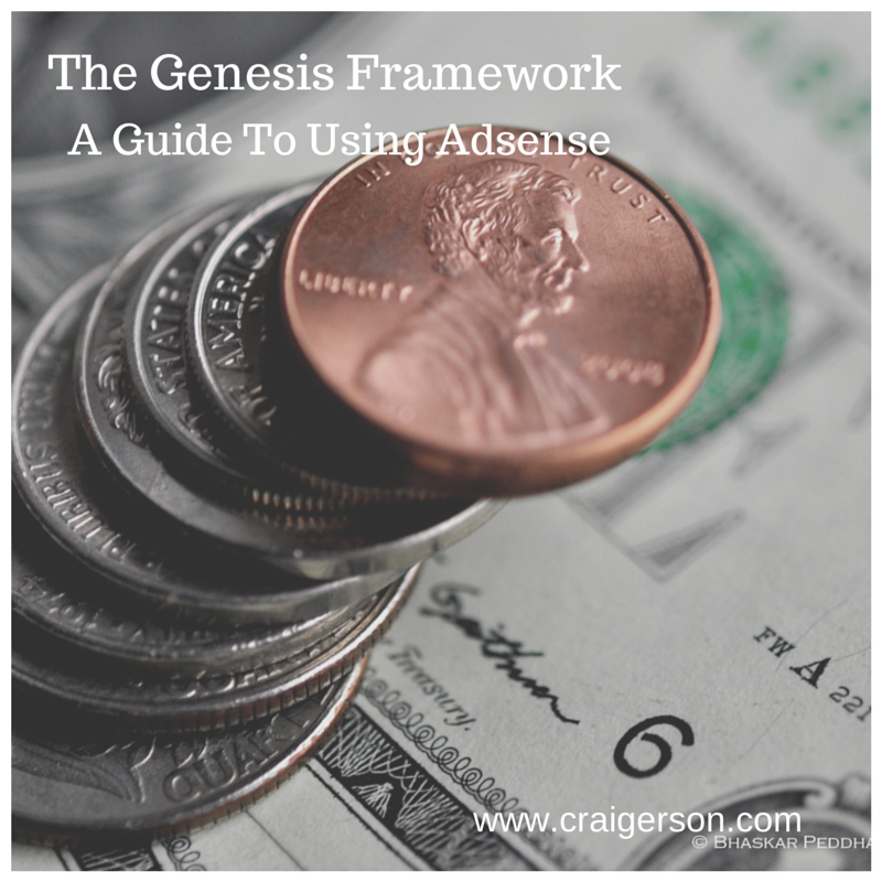 Using Adsense With The Genesis Framework