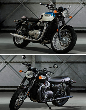 new triumph bonneville models 2017